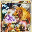 HS - Unleashed - 90 Entei Raikou LEGEND Mitad Superior - Ultra Rare